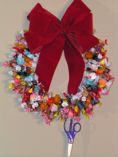 Free How To Make A Candy Christmas Wreath E Book And Video Living