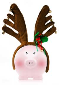 Christmas-piggy-bank