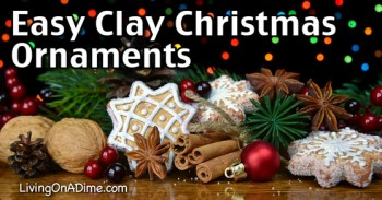 Easy Clay Christmas Ornaments Recipe