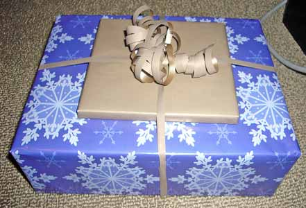 wrapped gift giving