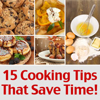 15 Cooking Tips That Save Time And Money