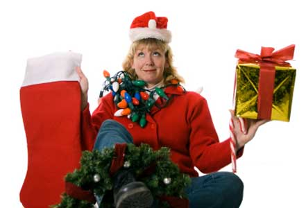 stressed out mom - holiday stress