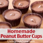 Homermade Peanut Butter Cups Recipe