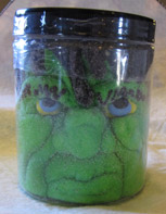 monster in a jar peep candy