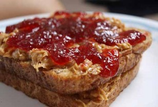 Peanut Butter and Jelly Sandwich - Comfort Food for Kids!