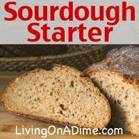 Potato Flake Sourdough Starter Recipe