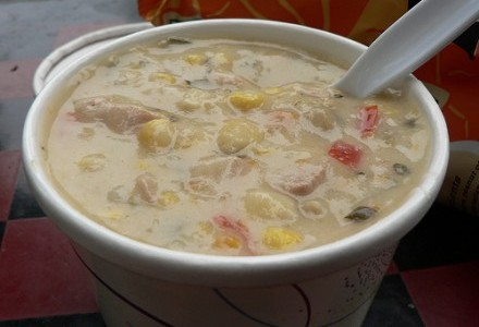 Homemade Mexican Chicken Chowder