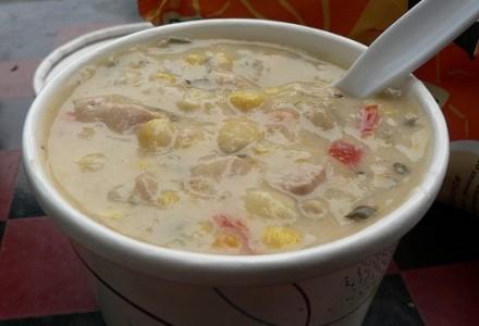 Homemade Mexican Chicken Chowder