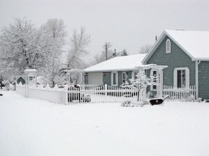 House winter wonderland