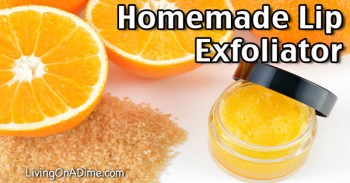 Homemade Lip Exfoliator Recipe