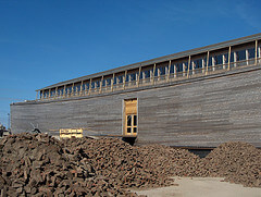 replica of noahs ark