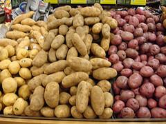 potatoes in a barrel