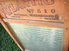 washboard - a classic washing machine