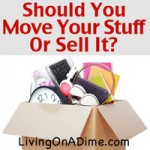 Should You Move Your Stuff Or Sell It?