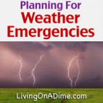 Planning For Weather Emergencies