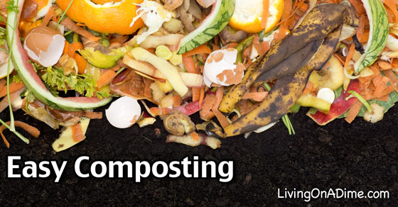 Easy Composting – How To Make Compost Simpler