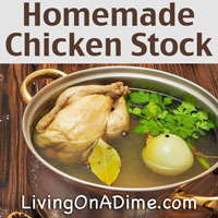 Homemade Chicken Stock Recipe