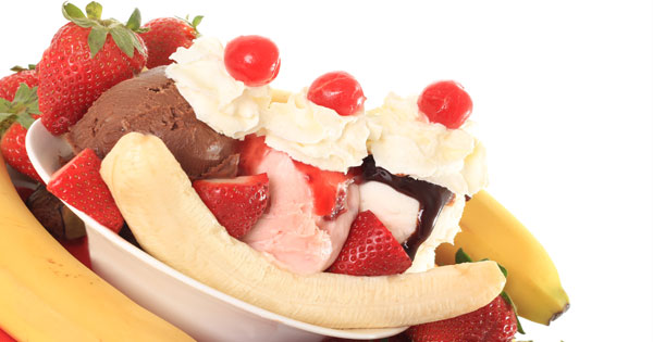 and easy banana split recipes and ideas