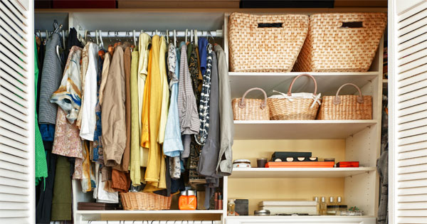 How To Organize One Small Closet