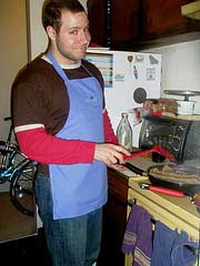 Perfect Husband Cooking Dinner