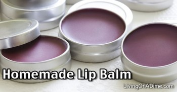 Homemade Lip Balm Recipe - Homemade Christmas Present Idea