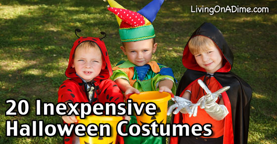 20 Inexpensive Halloween Costume Ideas