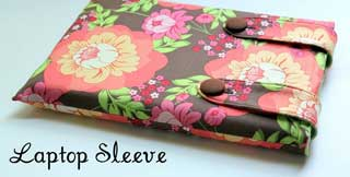 homemade laptop sleeve craft