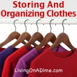 Storing And Organizing Clothes