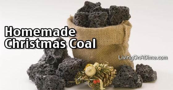 Homemade Christmas Coal Recipe  Living on a Dime