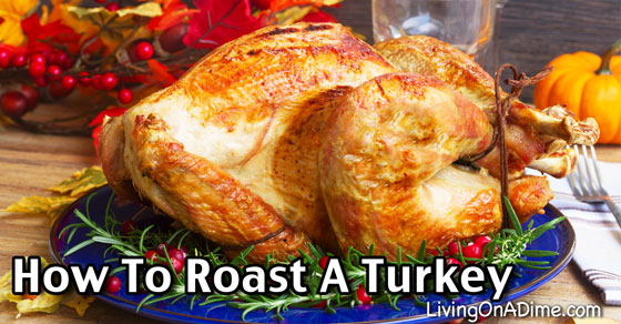 How To Roast A Turkey - Living on a Dime
