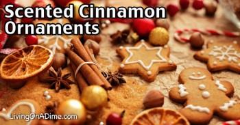 Scented Cinnamon Ornaments Recipe