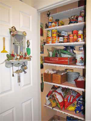Pantry With Door Open