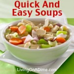 Quick And Easy Soups