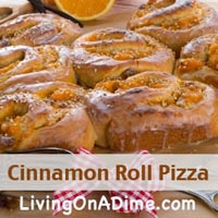 cinnamon roll pizza recipe
