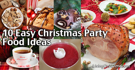 10 easy christmas party food ideas and easy recipes