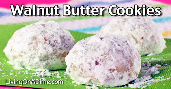 Walnut Butter Cookies Recipe