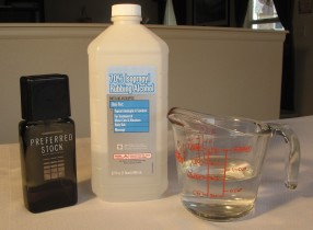 Easy Homemade aftershave