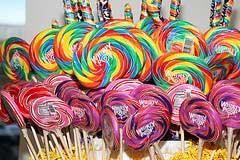 easter jelly beans lollipops