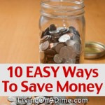 10 EASY Ways To Save Money