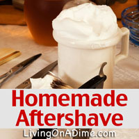 Easy Homemade Aftershave Recipe