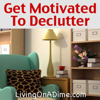 spring cleaning house and mind how to get motivated to declutter. Black Bedroom Furniture Sets. Home Design Ideas