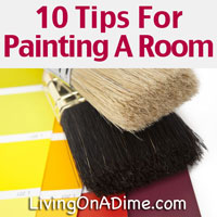 10 Tips For Painting A Room