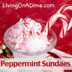 Peppermint Sundaes Recipe