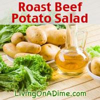 Roast Beef Potato Salad