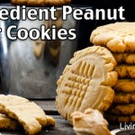 Easy 4 Ingredient Peanut Butter Cookies Recipe