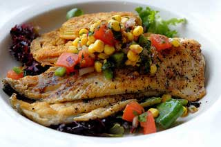 Menu spicy fish and wild rice living on a dime for Fish s wild menu