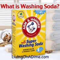 What Is Washing Soda