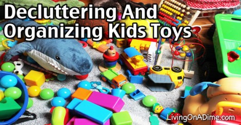 De-cluttering and Organizing Kids' Toys
