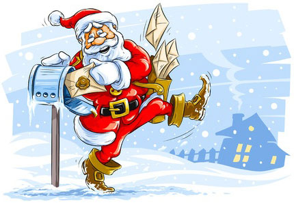 mailing packages and cards - Mailing Christmas Cards