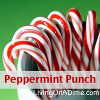 peppermint punch recipe